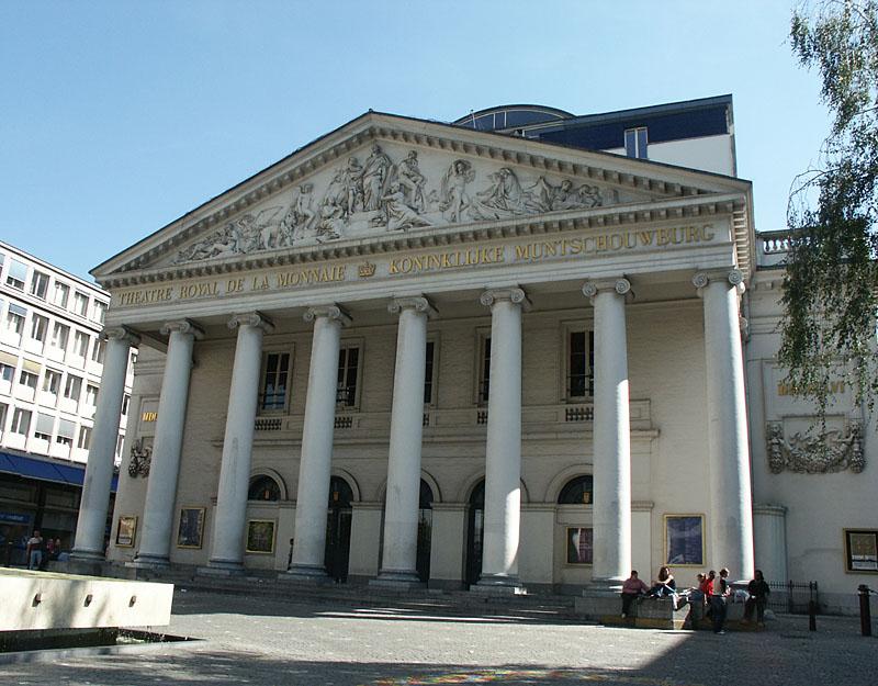 Visite guidée du Théâtre Royal de la Monnaie