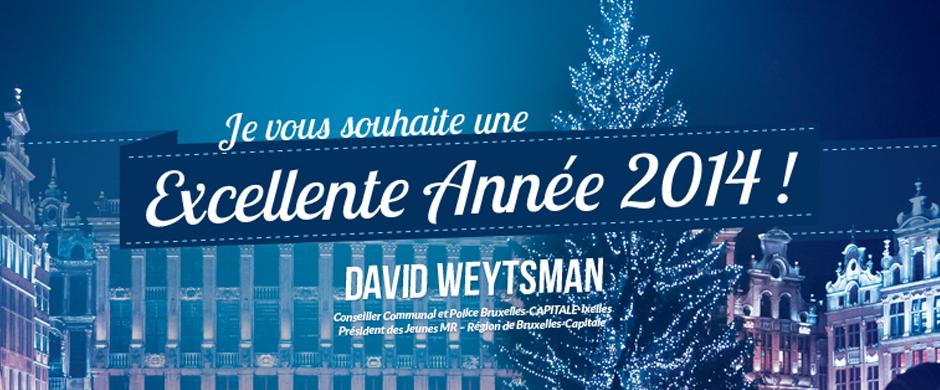 Je vous souhaite une Excellente Année 2014 !