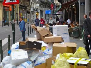 Mieux organiser la propreté publique à Bruxelles