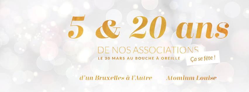 Venez fêter les 5 & 20 ans de vos associations !