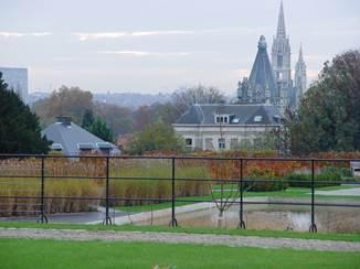 Les jardins du Roi à Laeken – Le Jardin Colonial, le parc Sobieski et le Fleuriste du Stuyvenberg
