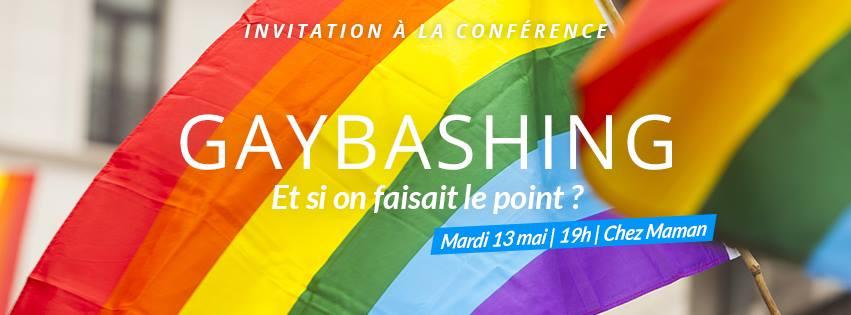 Conférence : Etat de la situation sur discriminations & gaybashing.