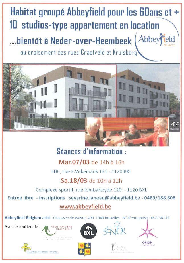 De nouveaux logements 'Abbeyfield' à Neder-Over-Heembeek.
