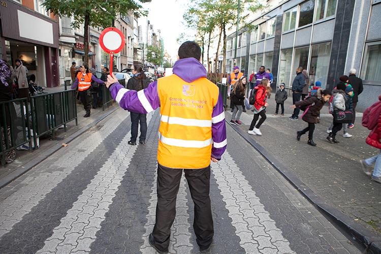 Sécurisation des abords des écoles de la Ville de Bruxelles