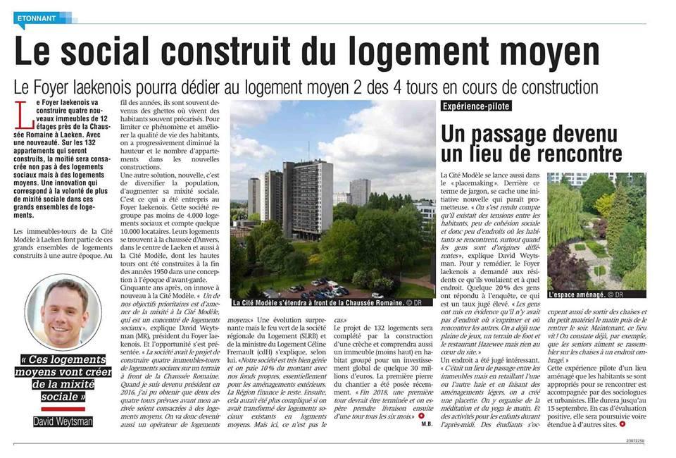 """""""Le Social construit du logement moyen"""""""