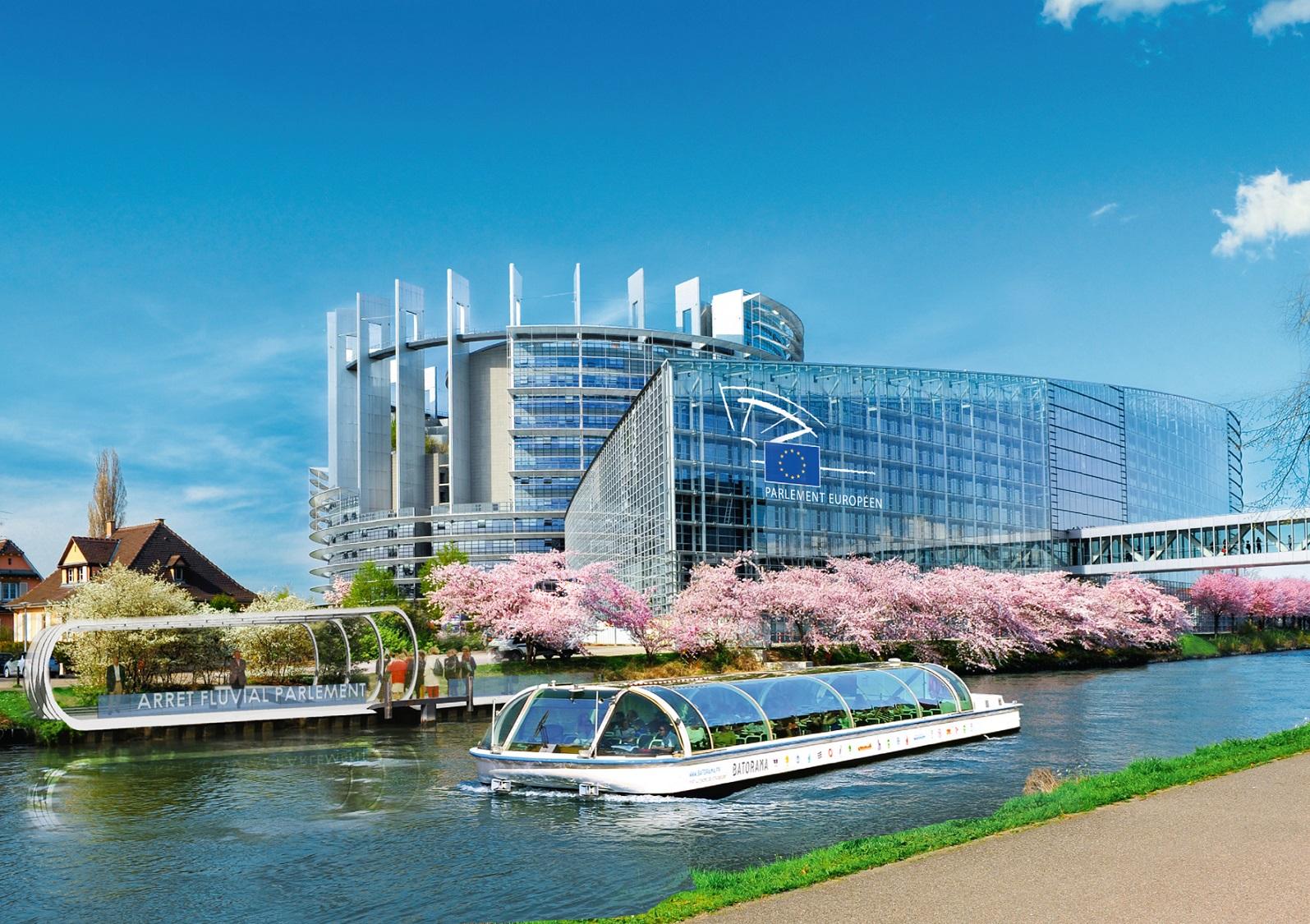 Visite guidée de Strasbourg & du Parlement Européen