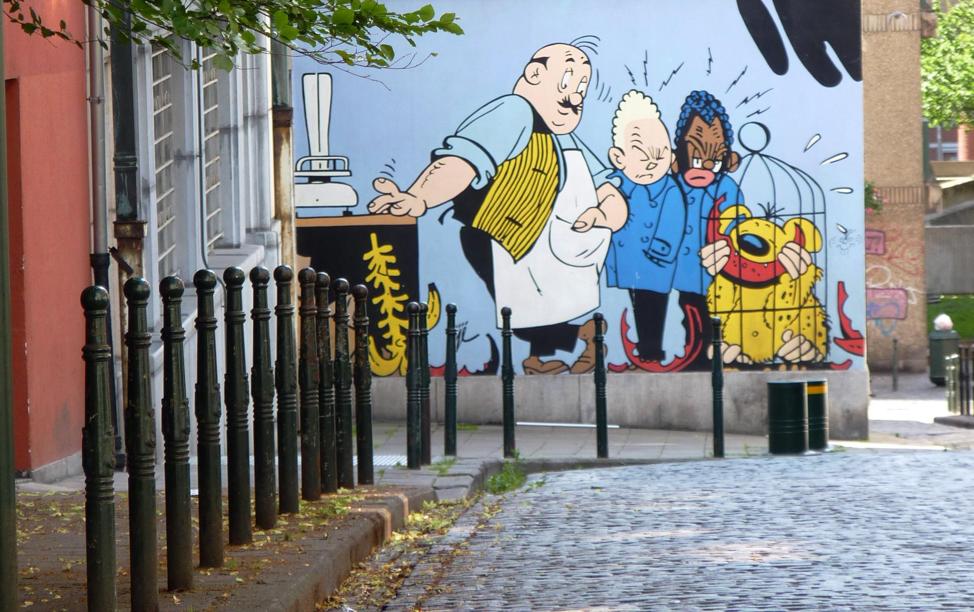 Fresques BD de la Ville: voici mes engagements
