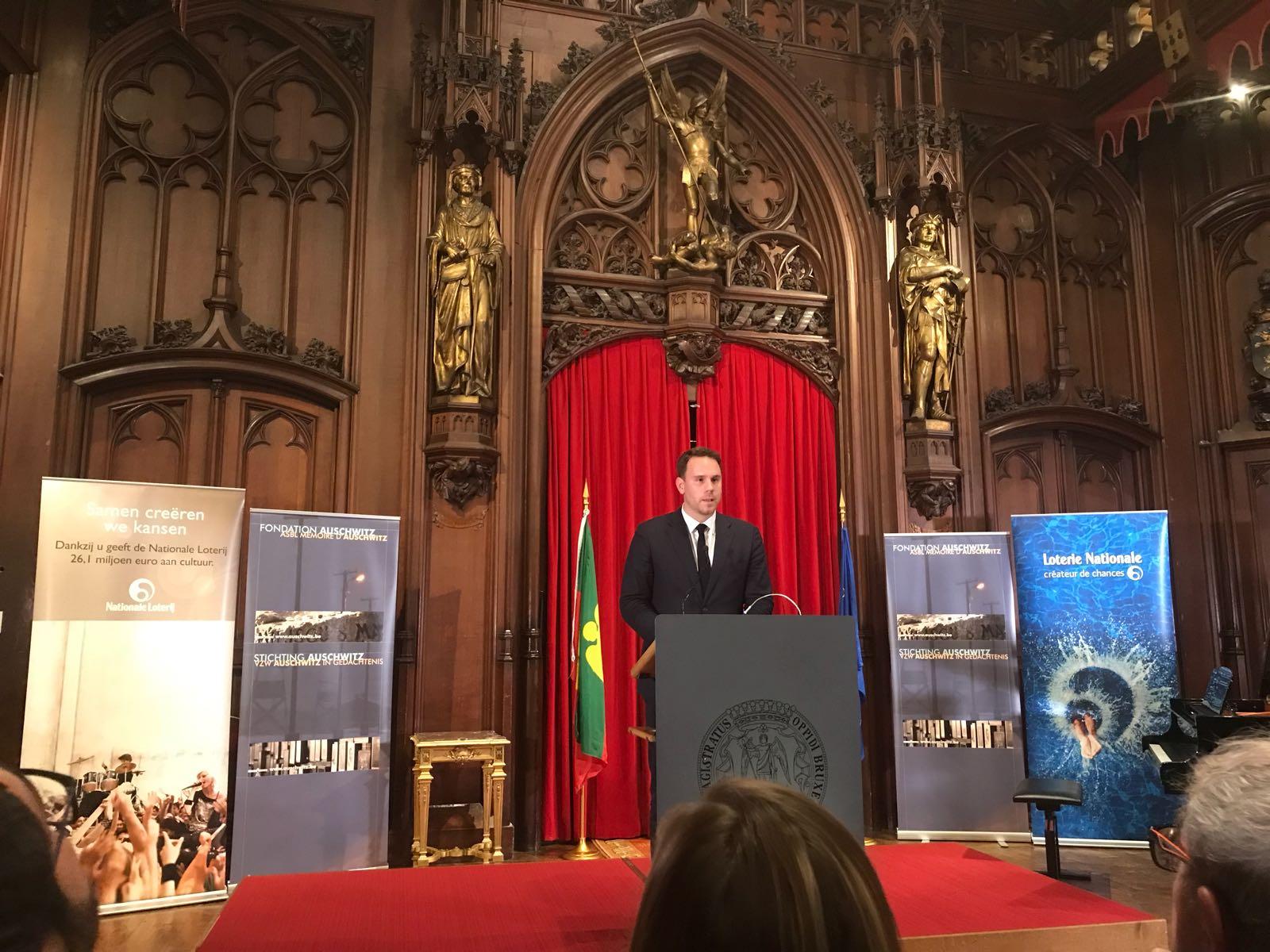 Séance académique de la remise des Prix internationaux de la Fondation Auschwitz