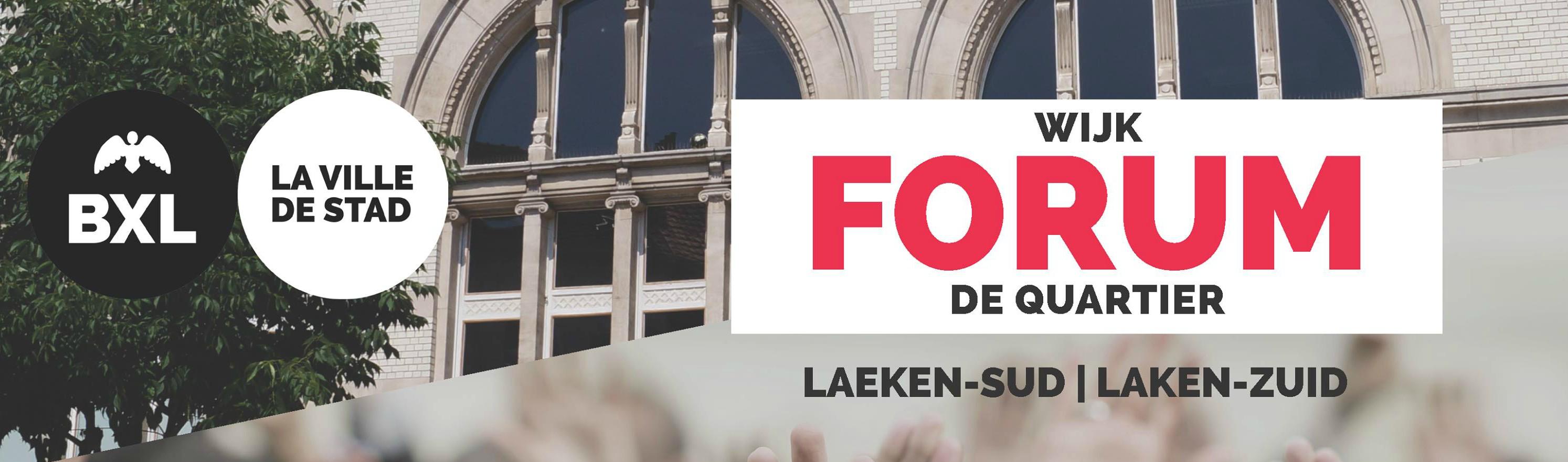 Forum de quartier : à l'écoute des Bruxellois !
