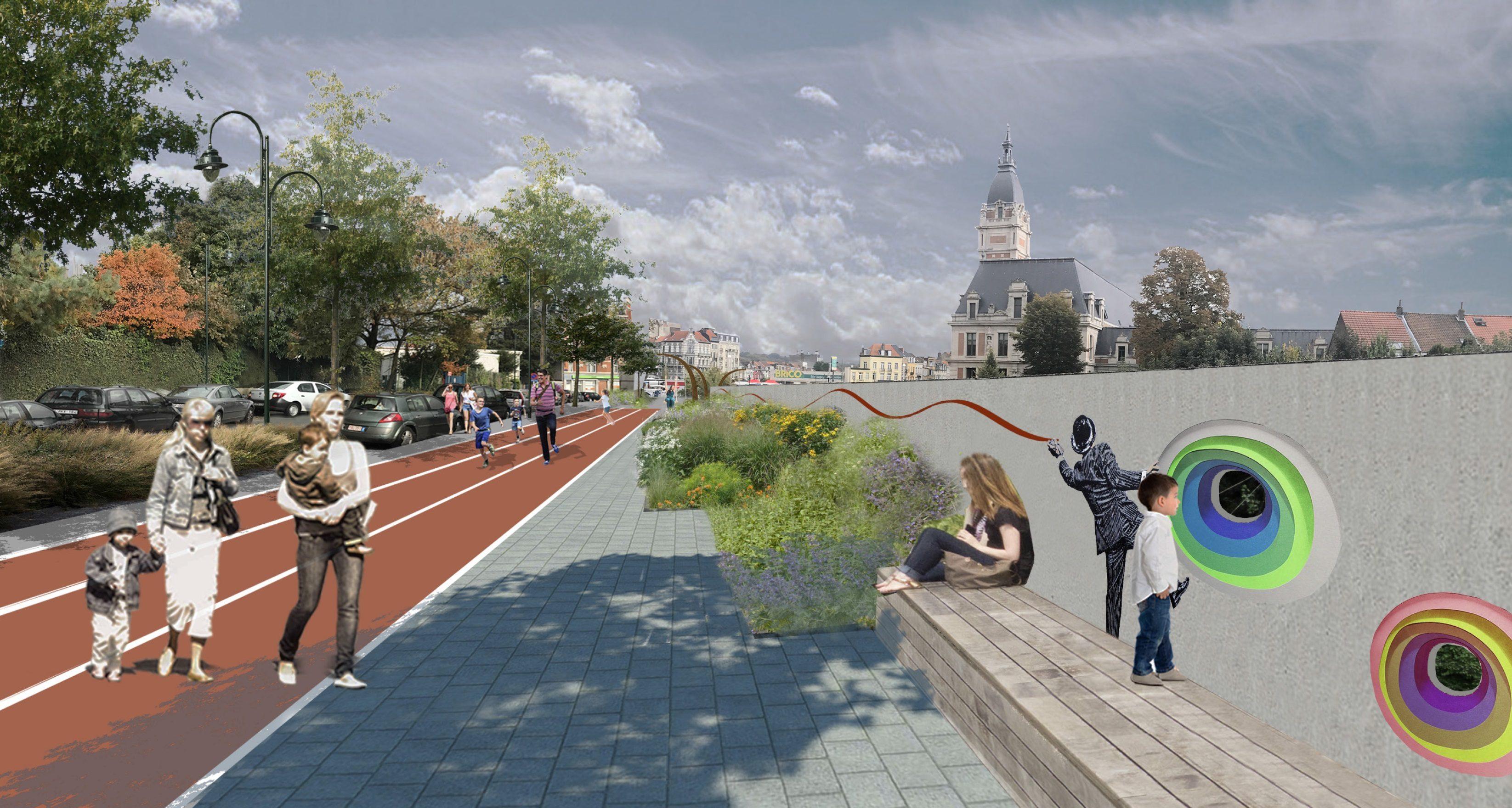 Contrat de Quartier Bockstael: présentation du plan de réaménagement aux habitants
