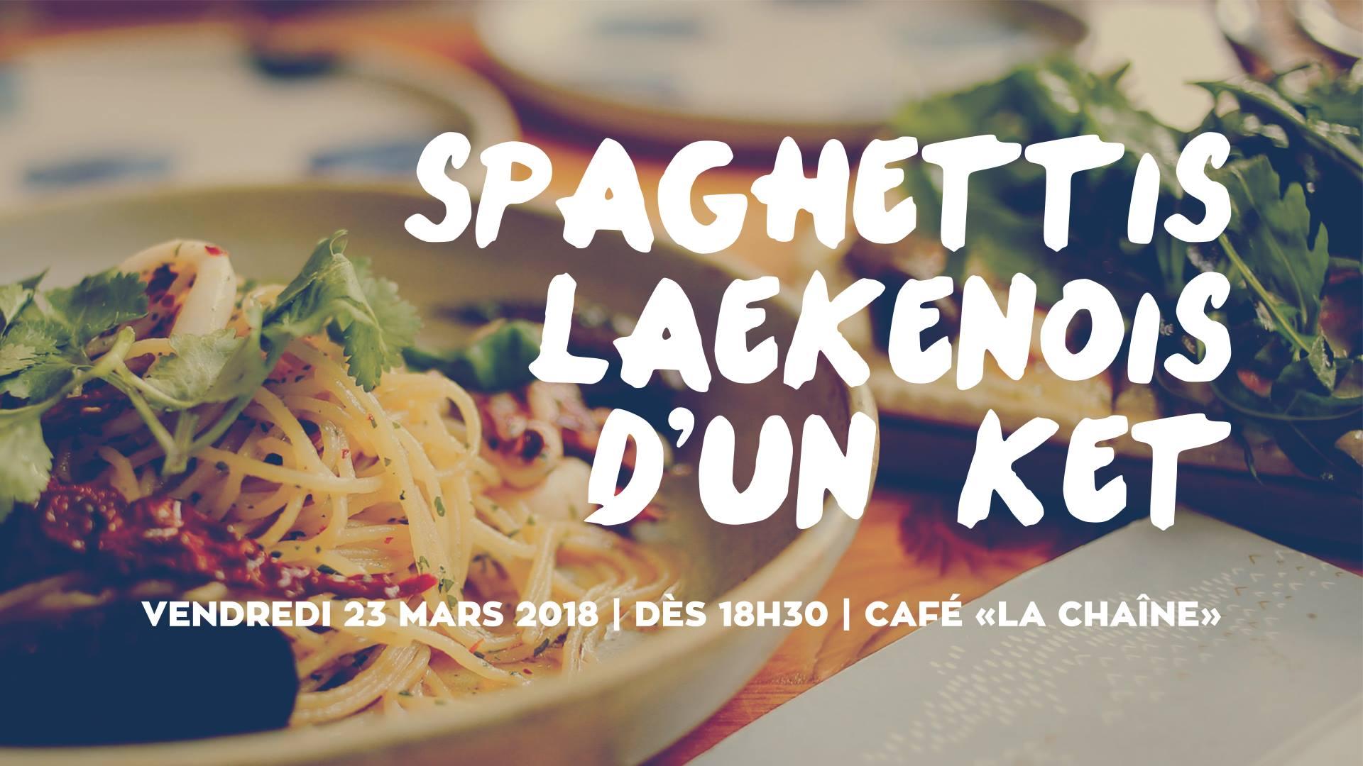 Spaghetti Laekenois d'un Ket !