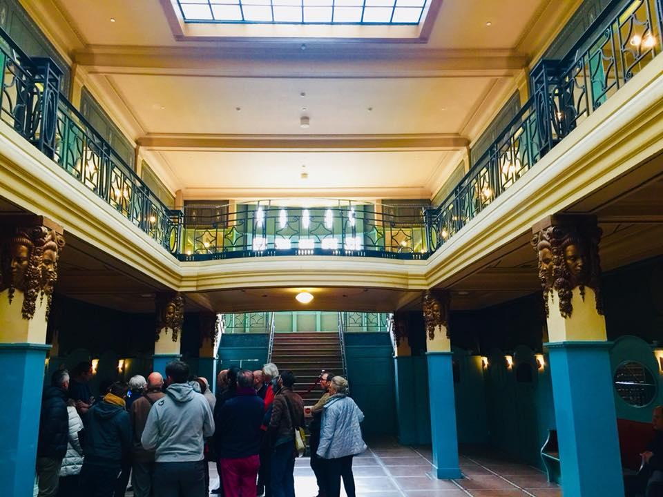 Visite guidée du Ciné Palace – Boulevard Anspach