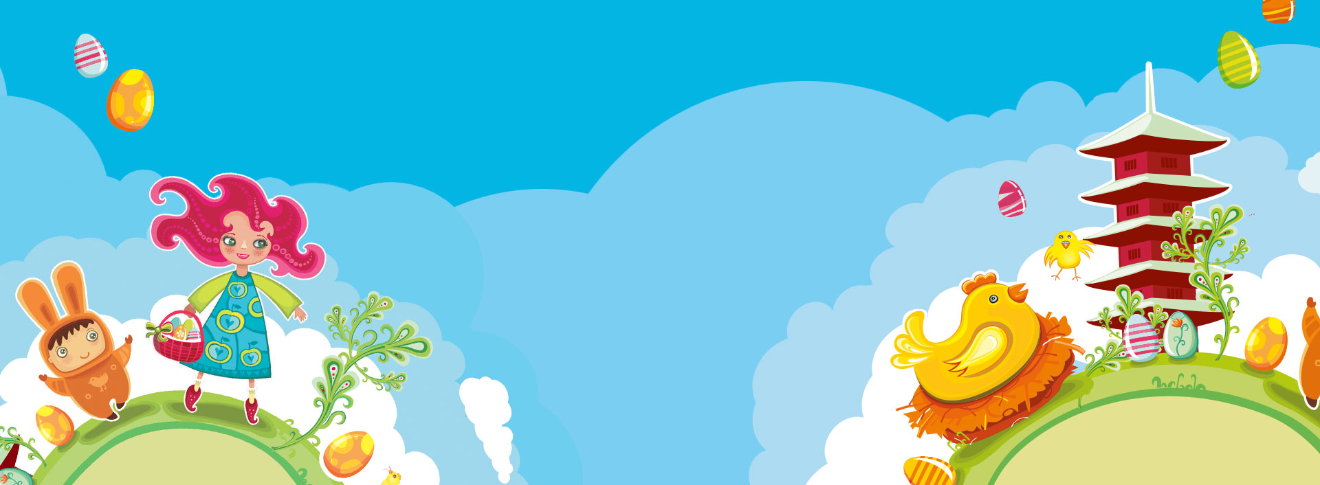 8e Chasse aux Oeufs à la Tour Japonaise !
