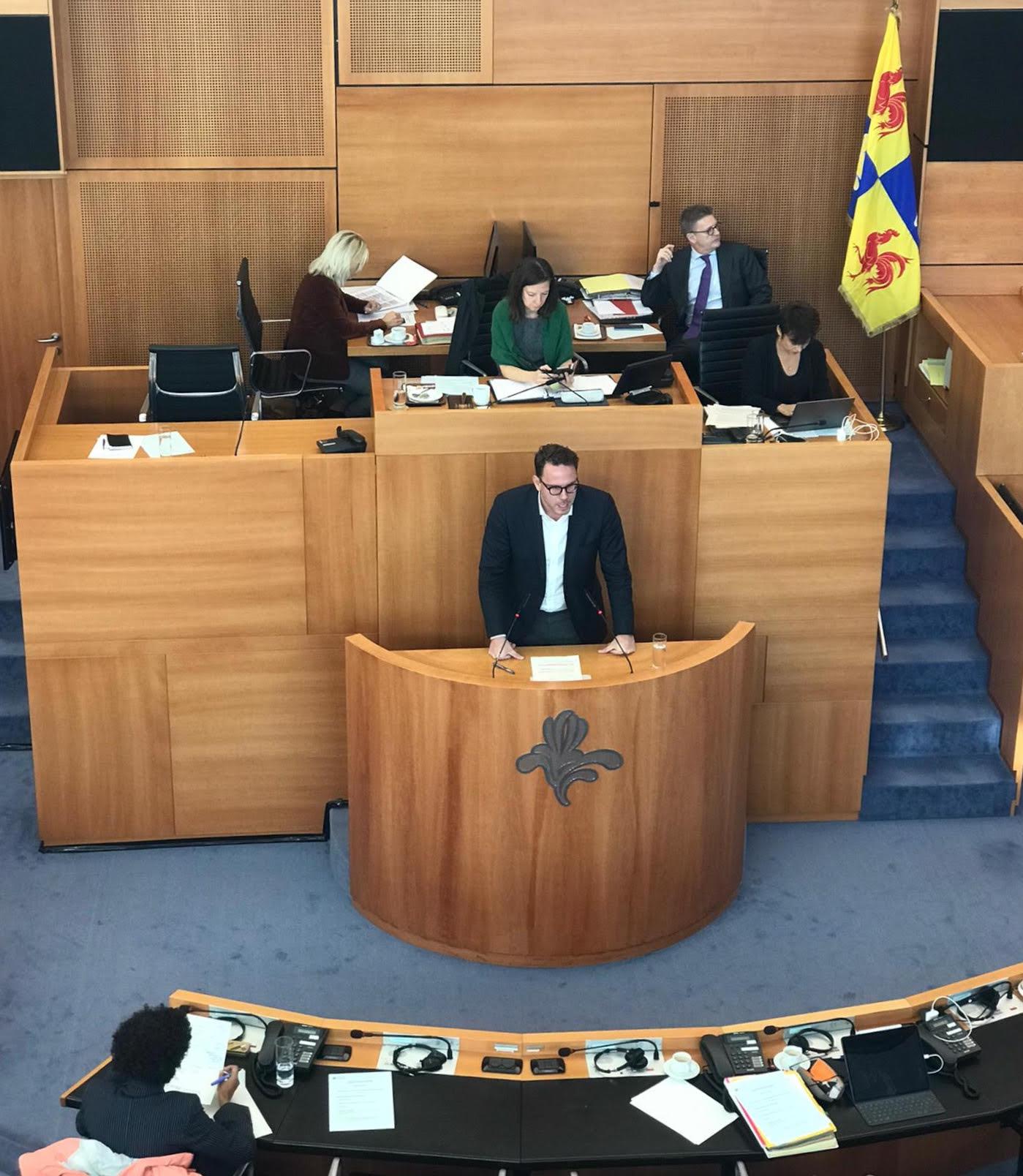 DECLARATION DE POLITIQUE REGIONALE 2020-2021 – Discours en réplique au Ministre-Président.