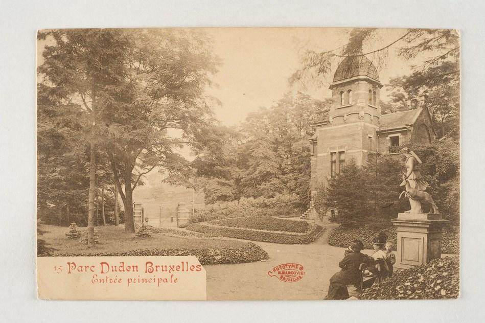 A la recherche des statues du Parc Duden