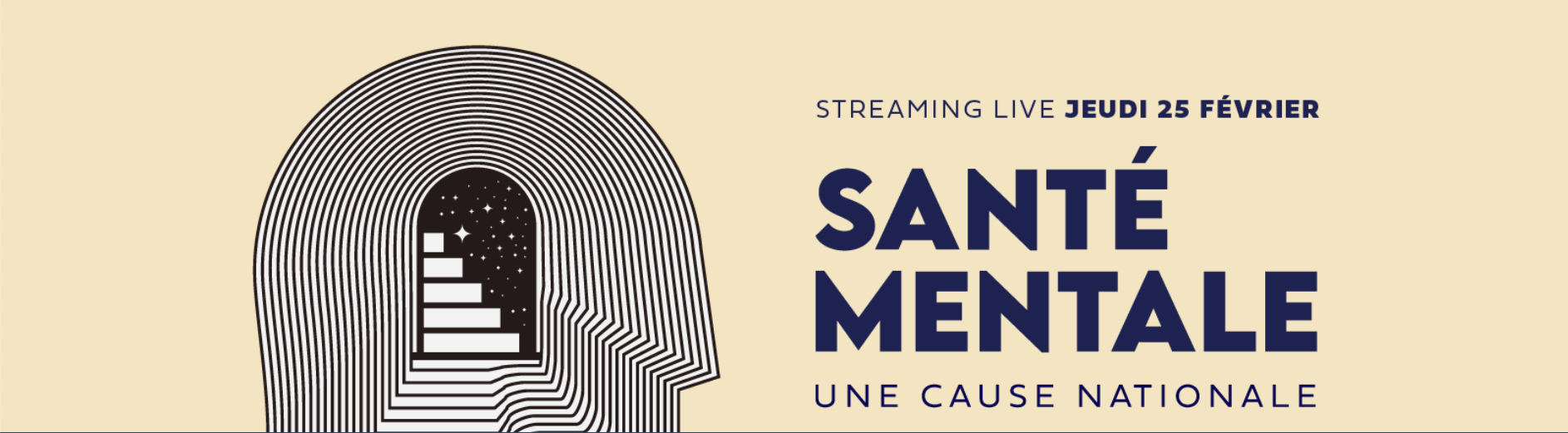 Streaming live: santé mentale, une cause nationale