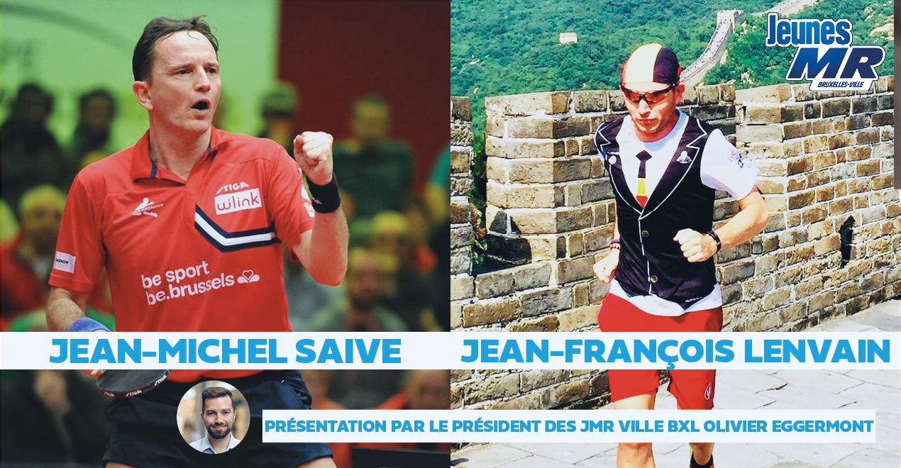 J-M Saive et J-F Lenvain: le sport de haut niveau en période Covid