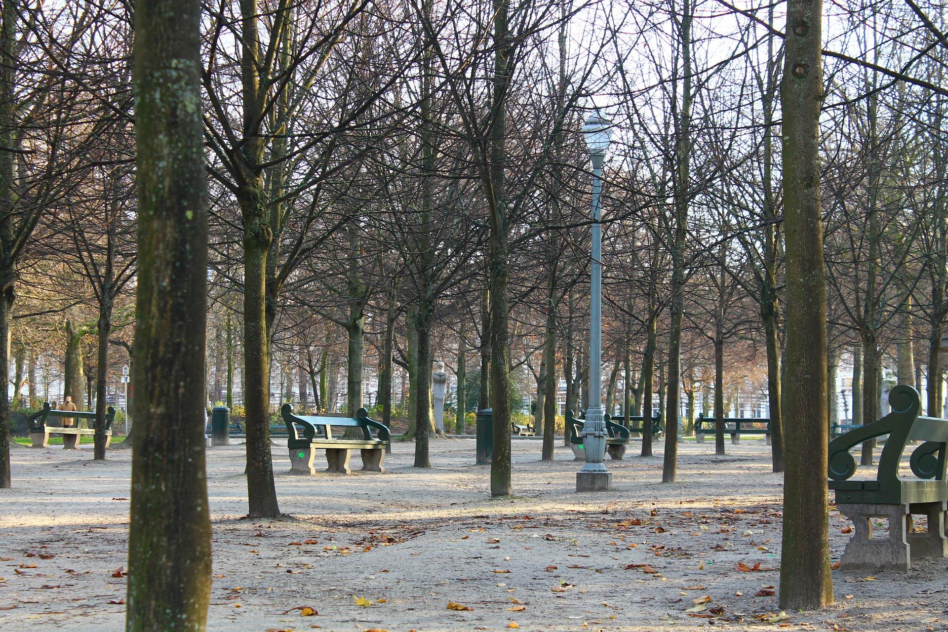 Le Parc royal, un musée à ciel ouvert en état d'urgence