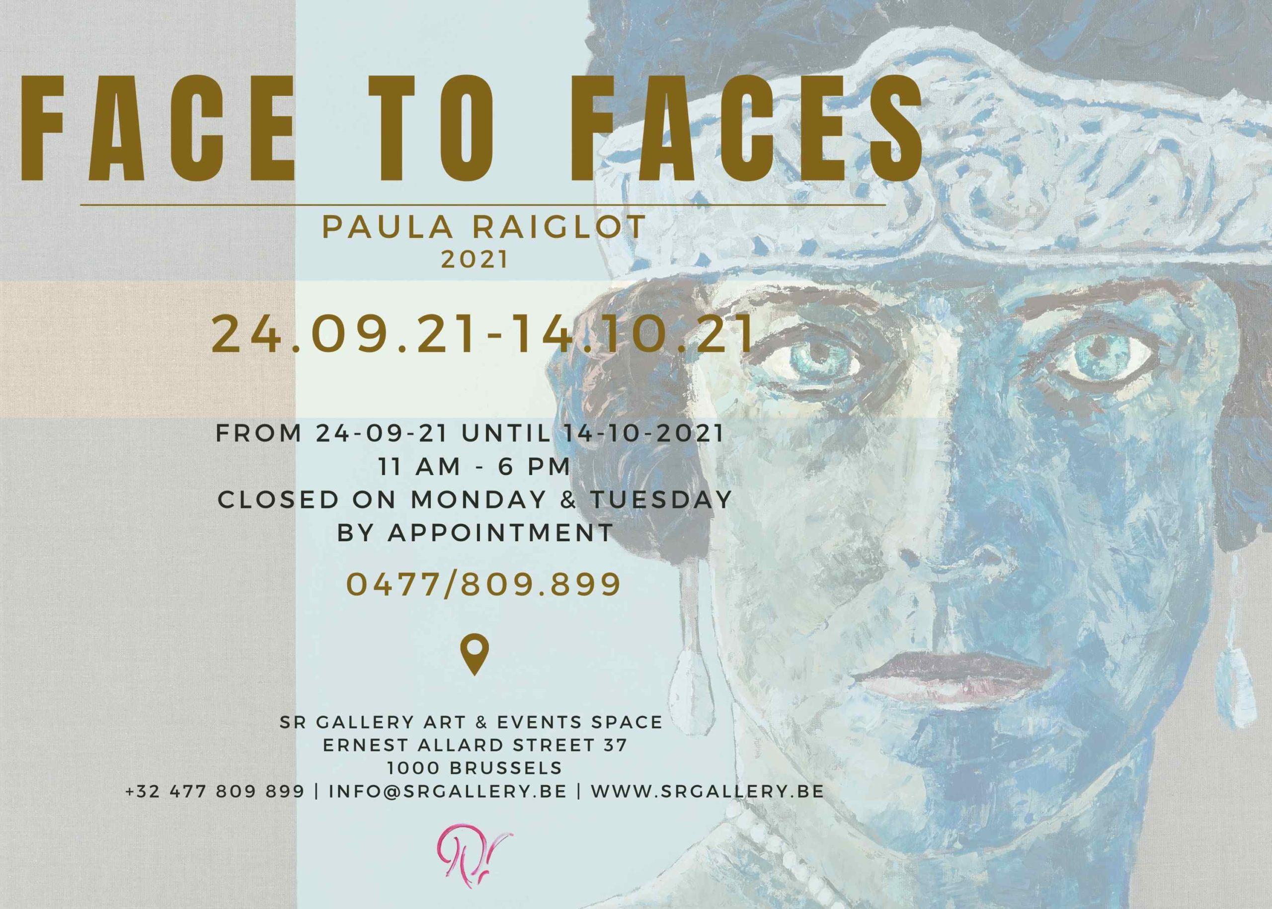 Expo Face to Faces de Paula Raiglot